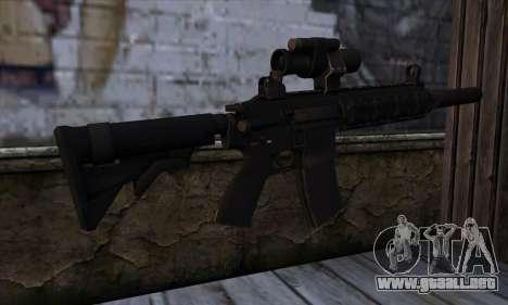 HX AP 15 from Hitman Absolution para GTA San Andreas segunda pantalla