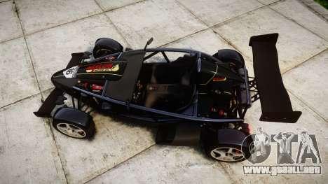 Ariel Atom V8 2010 [RIV] v1.1 Mixlub para GTA 4 visión correcta
