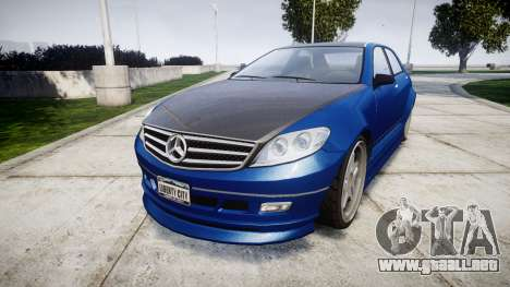 Benefactor Schafter Mercedes-Benz para GTA 4