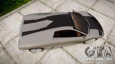 Pegassi Infernus Carbonerra para GTA 4 visión correcta