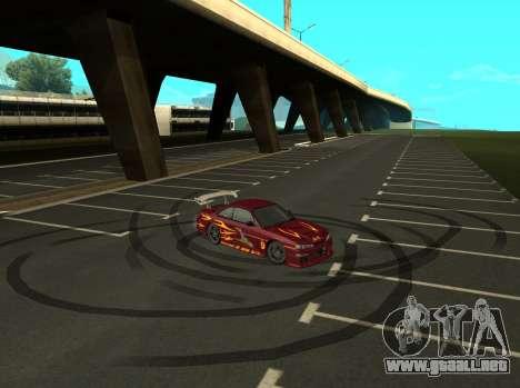 Nissan 200SX FnF1 (Letty car) para la visión correcta GTA San Andreas