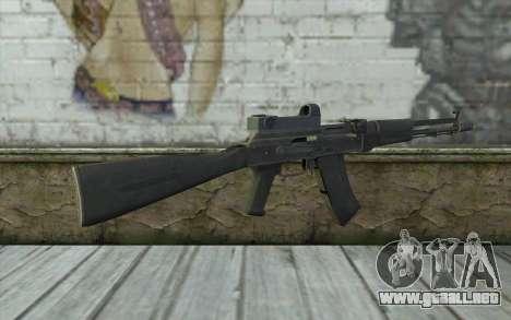 AK-107 de ARMA2 para GTA San Andreas segunda pantalla