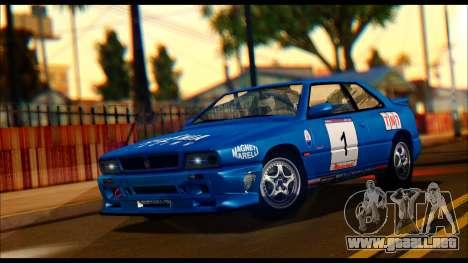 Maserati Ghibli II Cup (AM336) 1995 para GTA San Andreas
