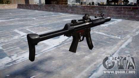 Pistola de MP5SD DRS FS b de destino para GTA 4 segundos de pantalla