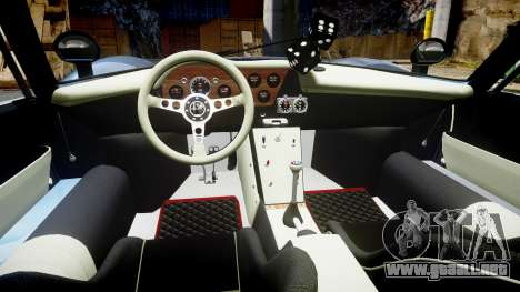 Alfa Romeo 33 Stradale para GTA 4 vista hacia atrás