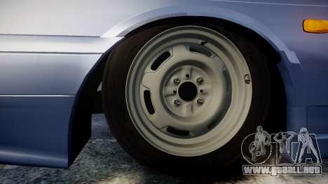 VAZ-2114, Lada Samara 2014 para GTA 4 vista hacia atrás