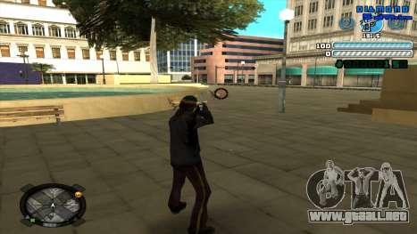 C-HUD Respect para GTA San Andreas tercera pantalla