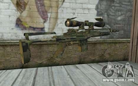 M14 EBR Digiwood para GTA San Andreas segunda pantalla