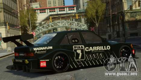 Mercedes-Benz 190E Evo2 GT3 para GTA 4 left