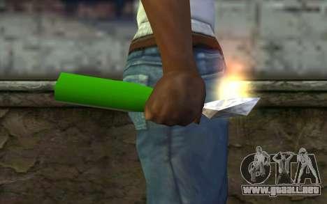 Molotov Cocktail from GTA Vice City para GTA San Andreas tercera pantalla