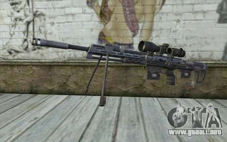 Sniper Rifle from Sniper Ghost Warrior para GTA San Andreas