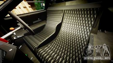 Ford GT40 Mark IV 1967 PJ Scuderia Westfalia 10 para GTA 4 vista interior