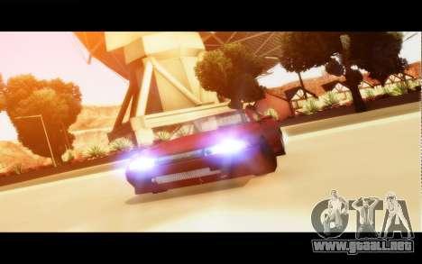 Elegy By Next para GTA San Andreas left