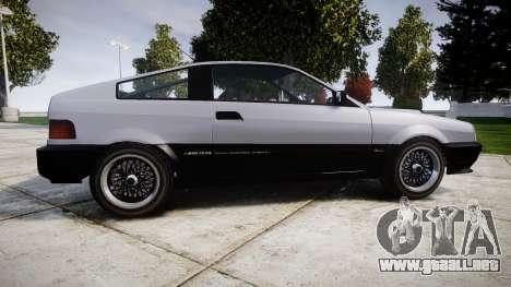 Dinka Blista Compact Sport para GTA 4 left