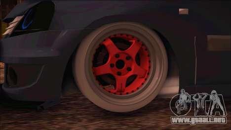 Dacia Logan MCV Tuning para GTA San Andreas vista posterior izquierda