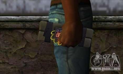 Stick Bomb from GTA 5 para GTA San Andreas tercera pantalla