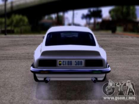 Lampadati Pigalle GTA V para la visión correcta GTA San Andreas
