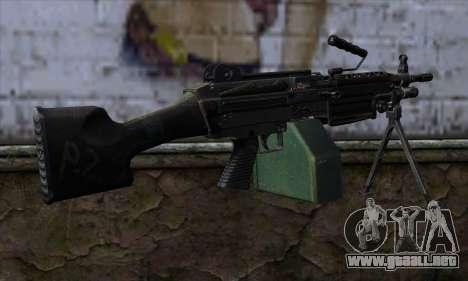 M249 v2 para GTA San Andreas segunda pantalla