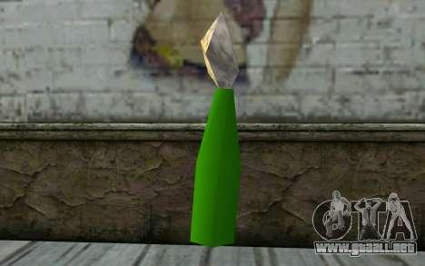 Molotov Cocktail from GTA Vice City para GTA San Andreas segunda pantalla