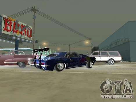 Chevrolet Camaro SS RedBull para GTA San Andreas left