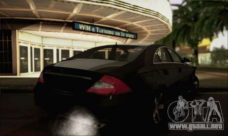 Mercedes-Benz CLS 500 para GTA San Andreas left