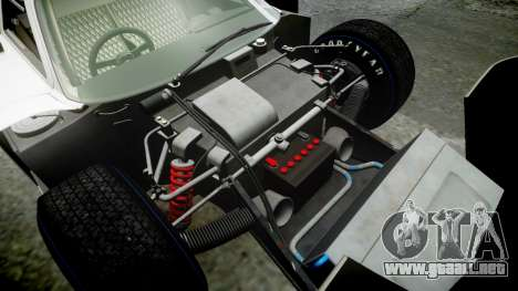 Ford GT40 Mark IV 1967 PJ Schila Racing 19 para GTA 4 vista superior