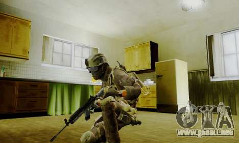 Spec Ops para GTA San Andreas sucesivamente de pantalla
