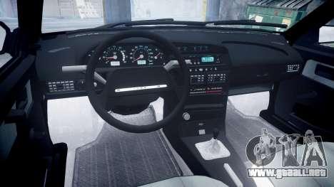 VAZ 21099 Satélite para GTA 4 vista interior