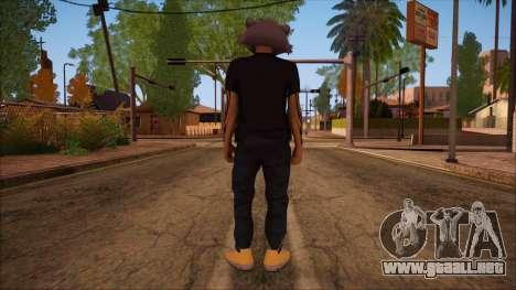 GTA 5 Online Skin 11 para GTA San Andreas segunda pantalla