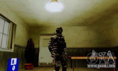 Spec Ops para GTA San Andreas tercera pantalla