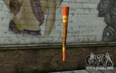 Flauta para GTA San Andreas segunda pantalla