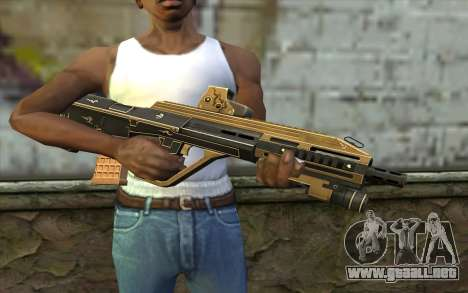 AUG A3 from PointBlank v7 para GTA San Andreas tercera pantalla