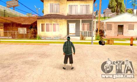 Varios Los Aztecas para GTA San Andreas sexta pantalla