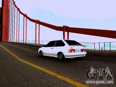 VAZ 2113 para GTA San Andreas left