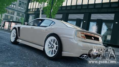 GTA 5 Bravado Buffalo para GTA 4 Vista posterior izquierda