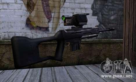 Rifle de francotirador (C&C: Renegade) para GTA San Andreas segunda pantalla