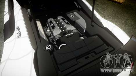 Audi R8 LMX 2015 [EPM] Carbon Series para GTA 4 vista lateral