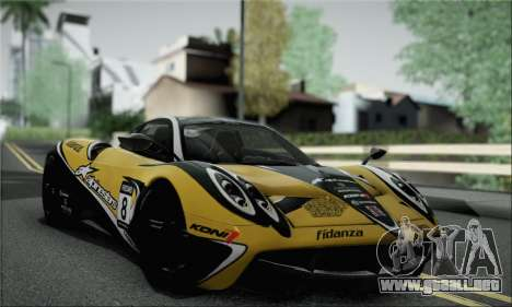 Pagani Huayra TT Ultimate Edition para la visión correcta GTA San Andreas