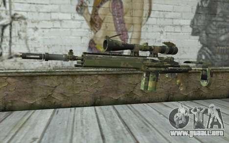 M14 EBR Digiwood para GTA San Andreas