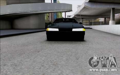 Japan Elegy para GTA San Andreas vista posterior izquierda