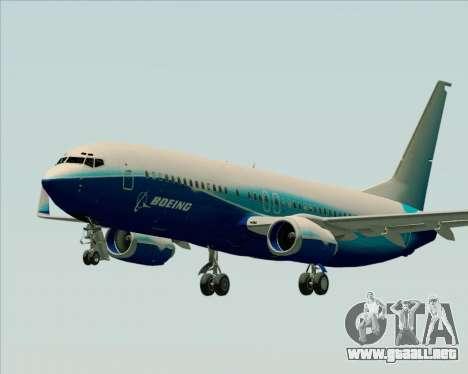 Boeing 737-800 House Colors para GTA San Andreas