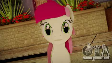 Roseluck from My Little Pony para GTA San Andreas tercera pantalla