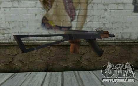 AK-47 de Hitman 2 para GTA San Andreas tercera pantalla