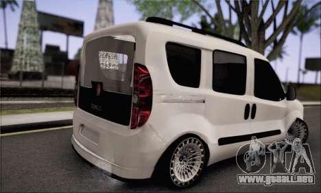 Fiat Doblo 2010 Edit para GTA San Andreas left