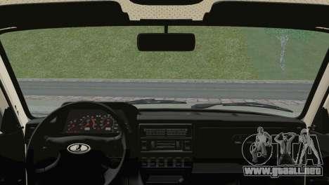 VAZ 2121 para GTA San Andreas vista posterior izquierda
