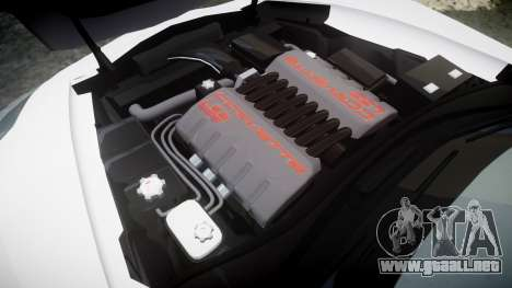 Chevrolet Corvette Z06 2015 TireKHU para GTA 4 vista lateral