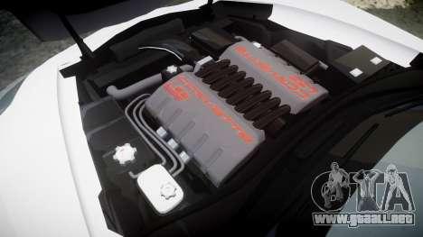 Chevrolet Corvette Z06 2015 TireMi1 para GTA 4 vista lateral