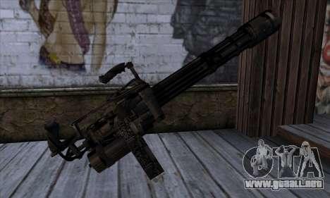 Gun Volcano v1 para GTA San Andreas segunda pantalla
