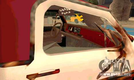 Ford PickUp Rusted para visión interna GTA San Andreas
