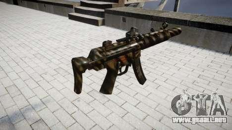 Pistola de MP5SD DRS CS para GTA 4 segundos de pantalla